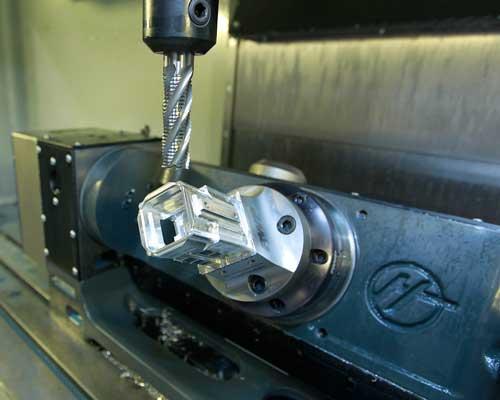ATN ThOR body construction process with a CNC machine to make the ATN THOR 640 5X